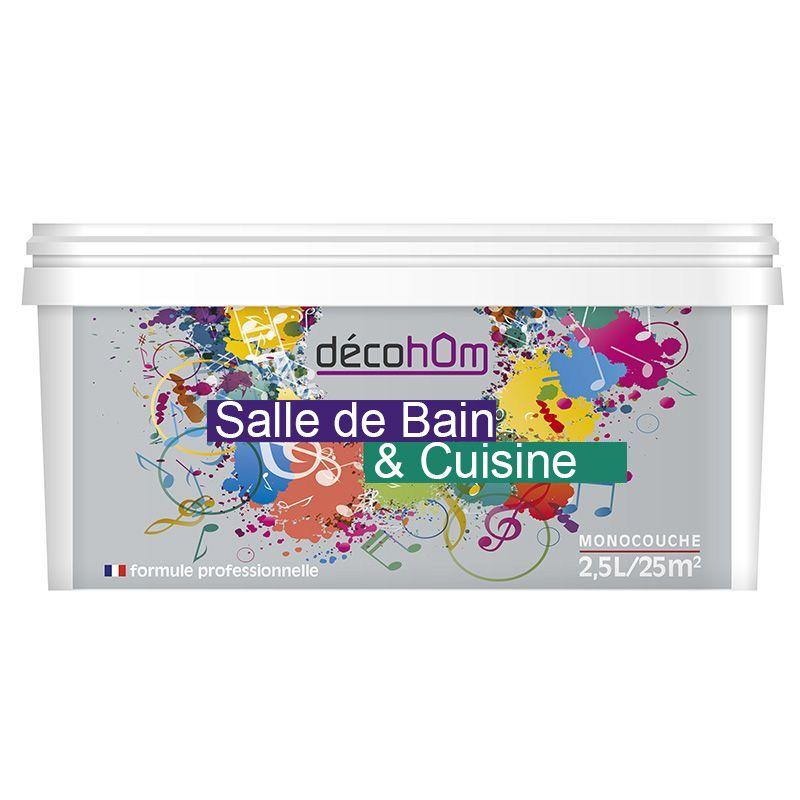 Peinture salle de bain pas cher peinture gris metallise - Peinture cuisine pas cher ...
