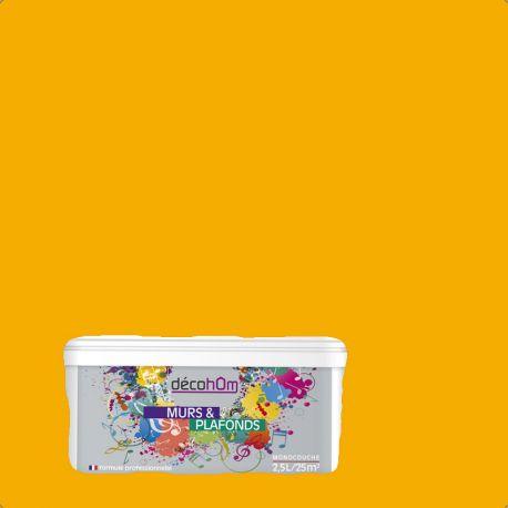 Peinture murale Ambre jaune DECOHOM S 1080-Y10R