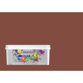 Peinture murale Chocolat au lait DECOHOM