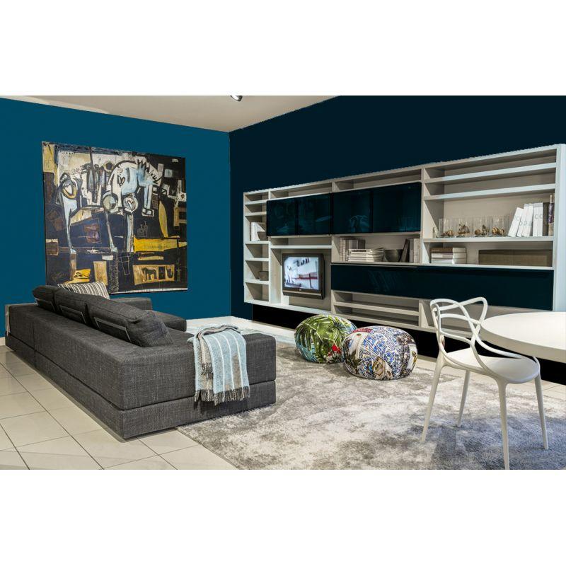 Peinture Murale Bleu Marine Decohom