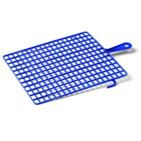 Grille plastique bleu