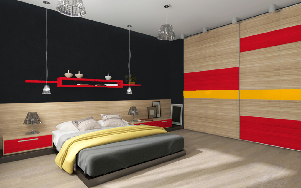 peinture gris anthracite murale d cohom. Black Bedroom Furniture Sets. Home Design Ideas