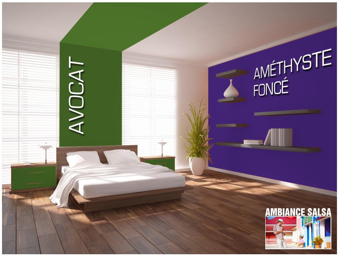 Exemple chambre couleur Avocat