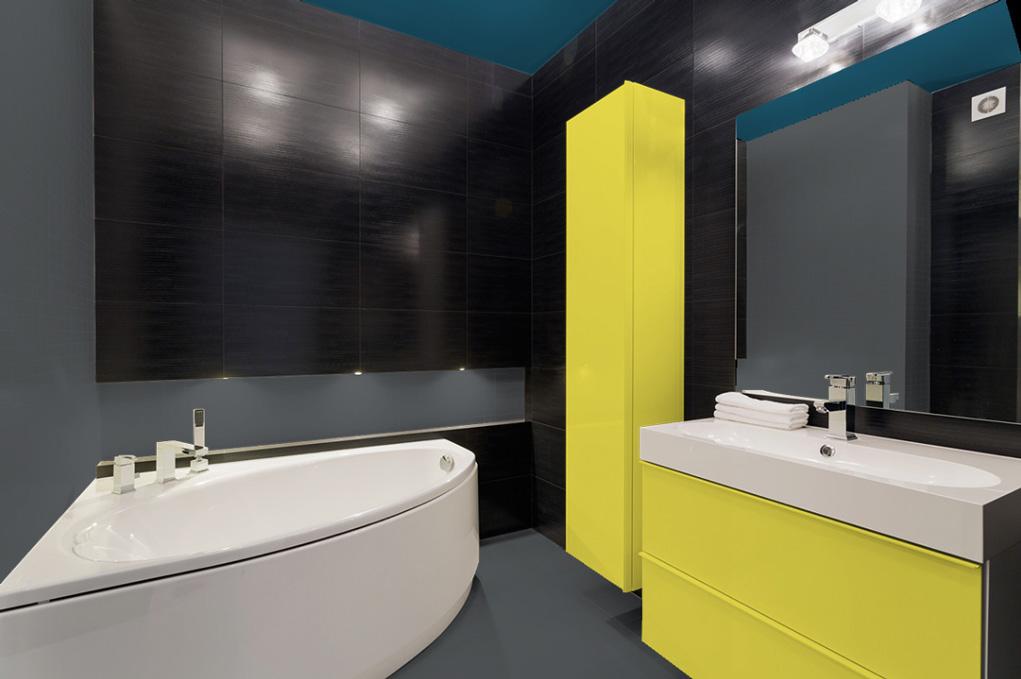 peindre sa salle de bain en gris salle de bain grise id es du gris taupe l ardoise peindre sa. Black Bedroom Furniture Sets. Home Design Ideas